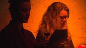 "LESUNG Sarah Kane ""GIER"", OpenStage Bern 2017"